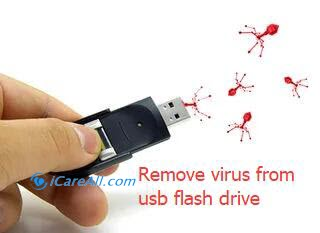 remove virus from usb flash